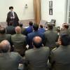 در دیدار فرماندهان نیروی زمینی ارتش مطرح شد تجلیل فرمانده کل قوا از مواضع وحدتآفرین فرمانده ارتش